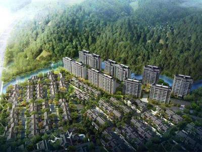 贵州低密度住宅组团建筑已完施工组织全套