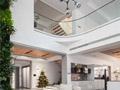 4层现代别墅设计,客厅植物墙效果太棒了!