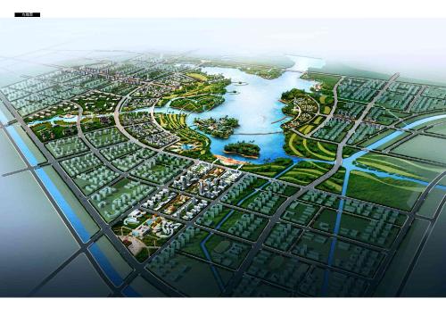 安徽凤台滨湖新区城市设计方案(生态之城/宜居之城)