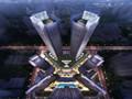 方案广西350米超高层双塔商业综合体设计方案文本(266张设计图含CAD)