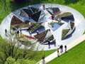 不锈钢,景观设计中的完美造景材料