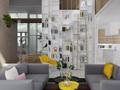 扔掉电视、笨重茶几的客厅,怎么设计?