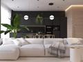 145㎡三室一厅,尽显绝美的简约意境!