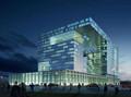 3000多平米5层框架结构综合办公楼建筑、结构全套图毕业设计