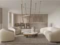 150㎡伦敦住宅,围绕家具设计的室内空间