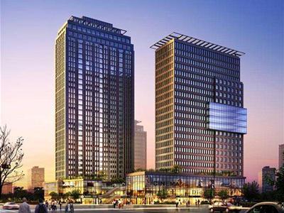 临海城市某高层框架剪力墙结构办公大厦设计cad全套结构施工图纸(含设计说明)