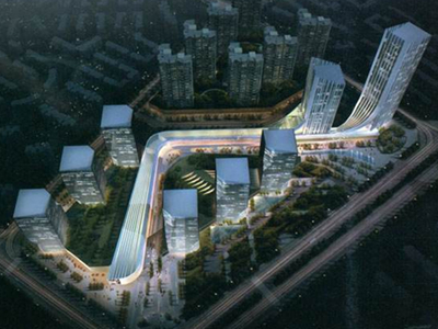 河北高层多业态都市综合体建筑设计方案文本(含两套方案)