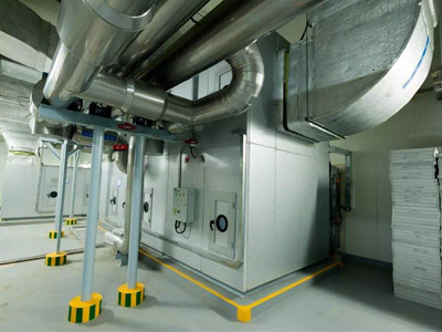 四川医院灾后重建项目中央空调及通风安装工程施工组织设计
