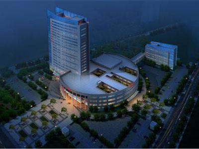 某十六层大型综合医院建筑施工设计CAD图