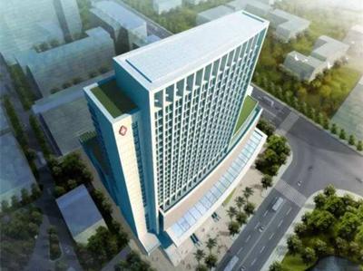 某十三层医院病房楼建筑施工CAD方案图