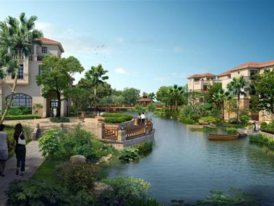 上海现代风格住宅景观方案设计文本