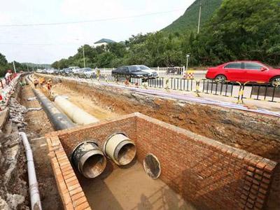 湖南市政道路雨水管顶管工程施工组织设计