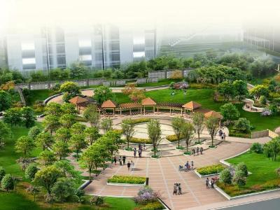 海南高层住宅小区园林景观绿化工程施工组织设计