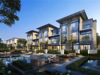 深圳四层新中式风格顶级生态庄园式别墅建筑设计方案文本