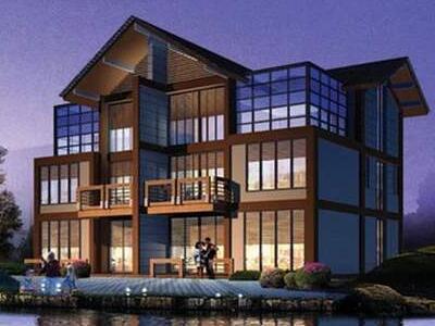 某三层日式别墅全套建筑施工CAD详情图