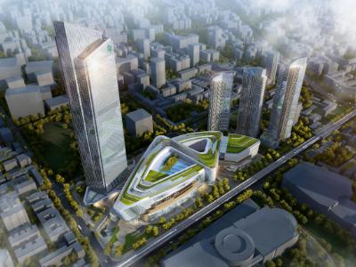 武汉大型商业广场工程写字楼塔楼及部分地下室工程施工组织设计(1600余页,图表齐全)