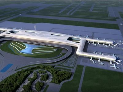 武汉天河机场三期扩建工程东指廊钢结构施工组织设计(257页,图文并茂)