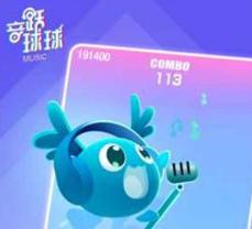"""【抖音上线首款小游戏""""音跃球球""""】昨天,""""抖音游戏""""官方账号发布了一款名为""""音跃球球""""的小游戏。这是去年头条小程序上线以来,抖音发布的首款小游戏。"""