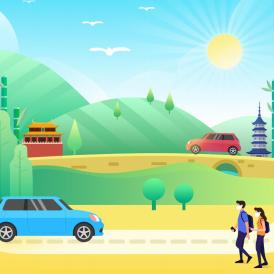 【高德地圖:2020年全國五一假期出行預測報告】報告對五一長假期間自駕出游易擁堵路段、景區及天氣情況進行了分析。同時,還發布了全國主要城市充電便利景區,可為自駕出游的新能源車主提供充電和出行參考。報告顯示,4月30日17時至21時、以及5月4日15時至19時分別為出程和返程高峰,提醒人們盡量錯峰出行。