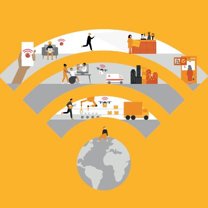 【普华永道:5G对全球经济影响的评估报告(英文版)】报告显示,与前几代移动技术相比,5G的速度更快、延迟更低,连接设备的数量也大幅度增加,这让企业高管们看到了一个更高效、更多产的未来。因为5G为全方位的超高速宽带构建了基础,它将带来4G或Wi-Fi 6无法比拟的可能性。