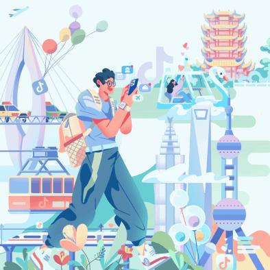 """【抖音:2021抖音五一數據報告】報告顯示,蘇州繼去年""""十一""""后,再次入選抖音熱門旅游城市前十,并上升至第四位?!拔逡弧逼陂g單個抖音用戶最多打卡了37個景點。另據攜程旅游發布的數據,拙政園登上今年""""五一黃金周十大熱門景區""""榜單,排名第七。"""