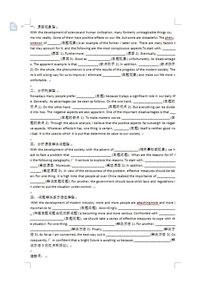 2016英语六级作文必备模板整理